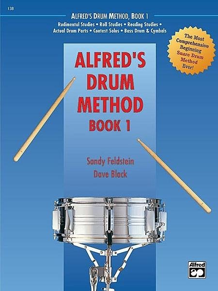 0 Alfreds Drum Methode Book 1