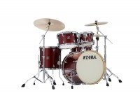 Tama Superstar Classic Maple Shell Dark Red Sparkle