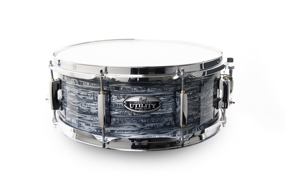 pearl snare drum 14x5 5 modern utility maple strata black holz snare drums schlagzeug. Black Bedroom Furniture Sets. Home Design Ideas